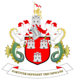 The Newcastle Coat of Arms: Fortiter Defendit Triumphans - Triumphing by Brave Defence