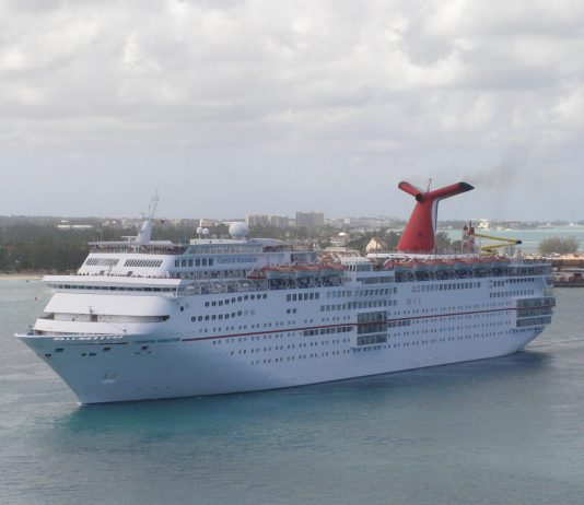 A Cruise Ship possibly like or even the same as that used for Rock the Boat 2017