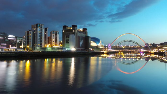 Newcastle Quayside Bridges by Ian Britton - Flickr Creative Commons