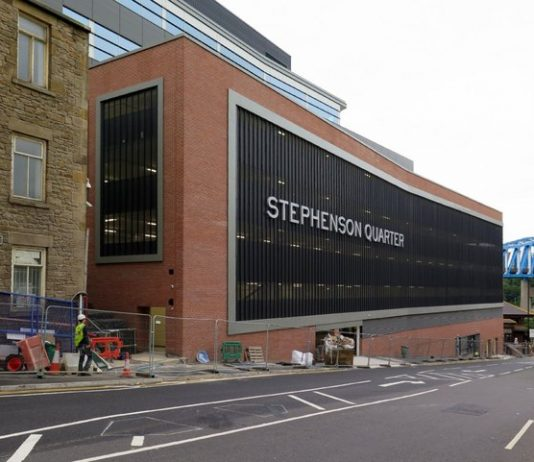 Exterior of the Stephenson Quarter building