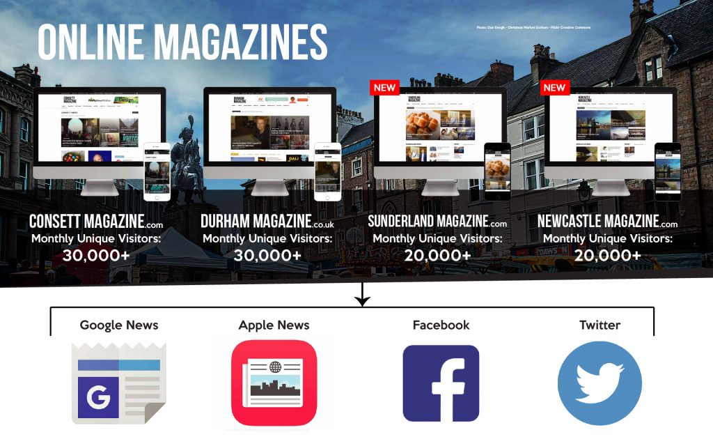 North East Advertising Magazines - UK North East Magazines Online Advertising