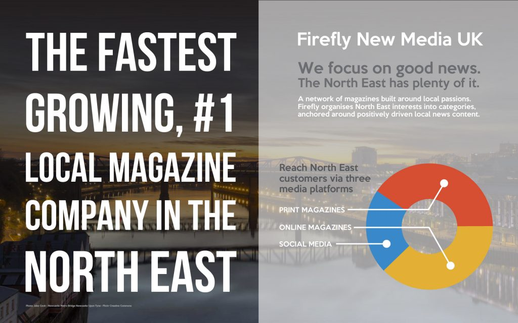North East Advertising - Winning Our Audiences Hearts Through Positive North East England Content