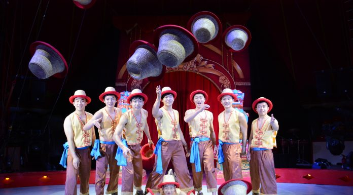 Performers of the Chinese State Circus Coming to Newcastle