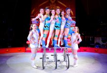 Cyclist Performers of the Chinese State Circus Coming to Newcastle