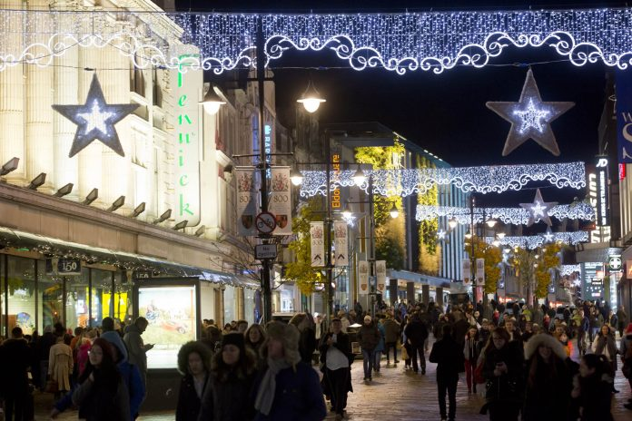 Christmas Lights Northumberland Street 161117B_100