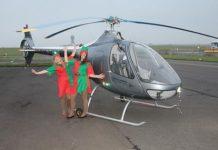 fly with santa