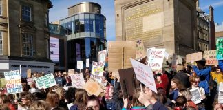 Newcastle upon Tyne - Climate Change - Climate Strike