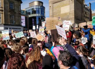 Newcastle upon Tyne - Climate Change - Climate Strike
