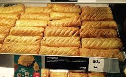 Gregg's Bakery Sausage Rolls