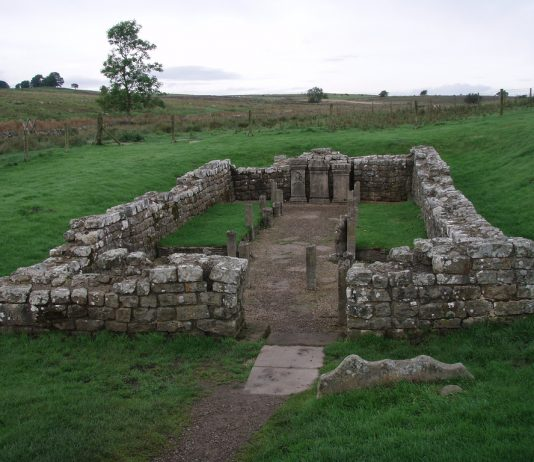 mithras temple carrawburgh