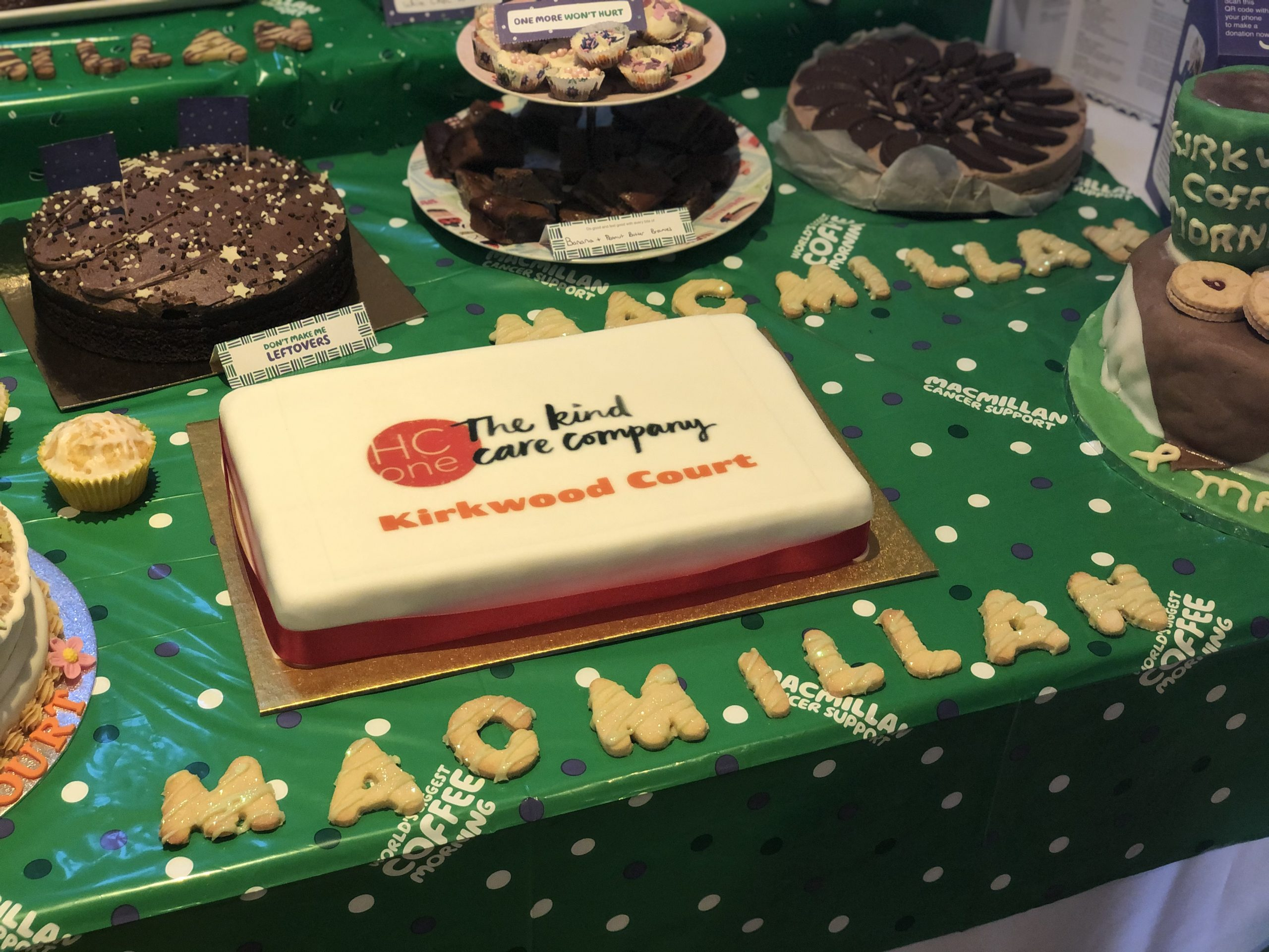 Newcastle Care Home Colleagues Raise Money For Macmillan With Bake-Off Competition