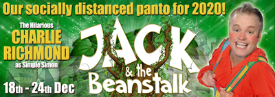 Jack & The Beanstalk at the Tyne Theatre and Opera House this Christmas: 18th - 24th Dec 2020