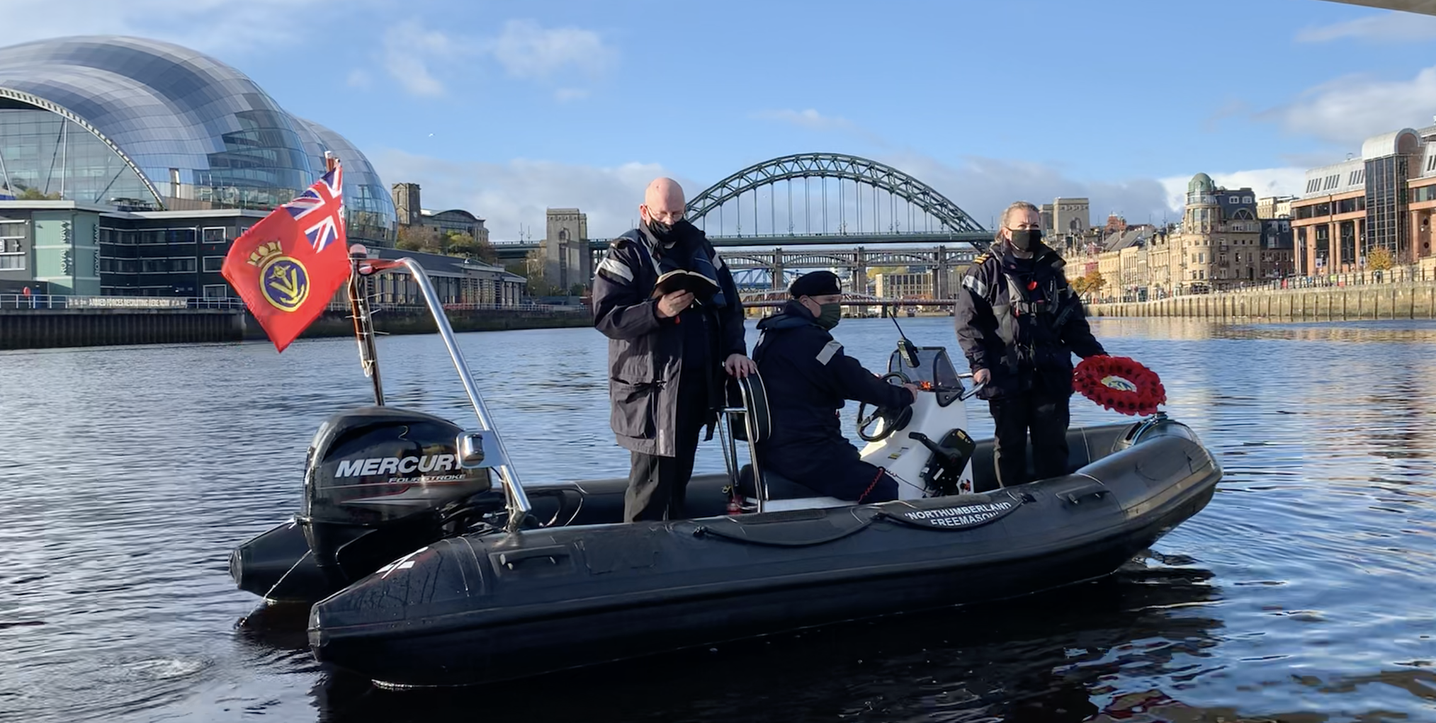 Maritime Volunteer Service Organises Remembrance Sunday Parade Sail