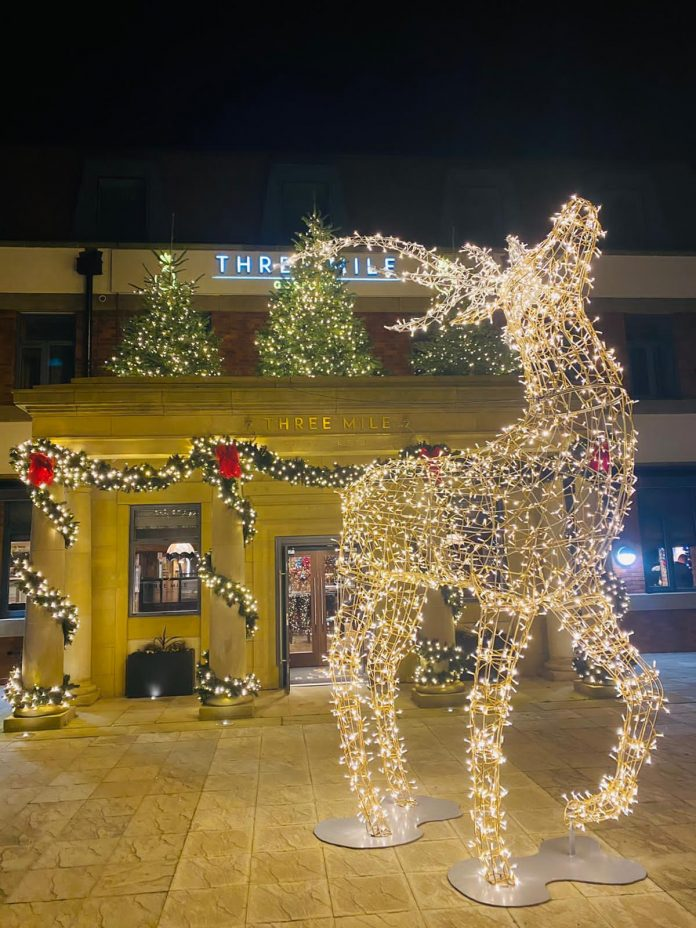 Three Mile Inn Lights Up With Stardust For Christmas