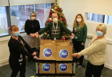 P&G Spreads Some Christmas Cheer With A Surprise Festive Feast For The Elderly