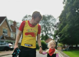 Seven-year-old Wren Steer Raises £600 For Charity By Completing A Virtual Run