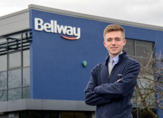 Dan Ferguson, 20, Has Been Named One Of Bellway's Apprentices Of The Year