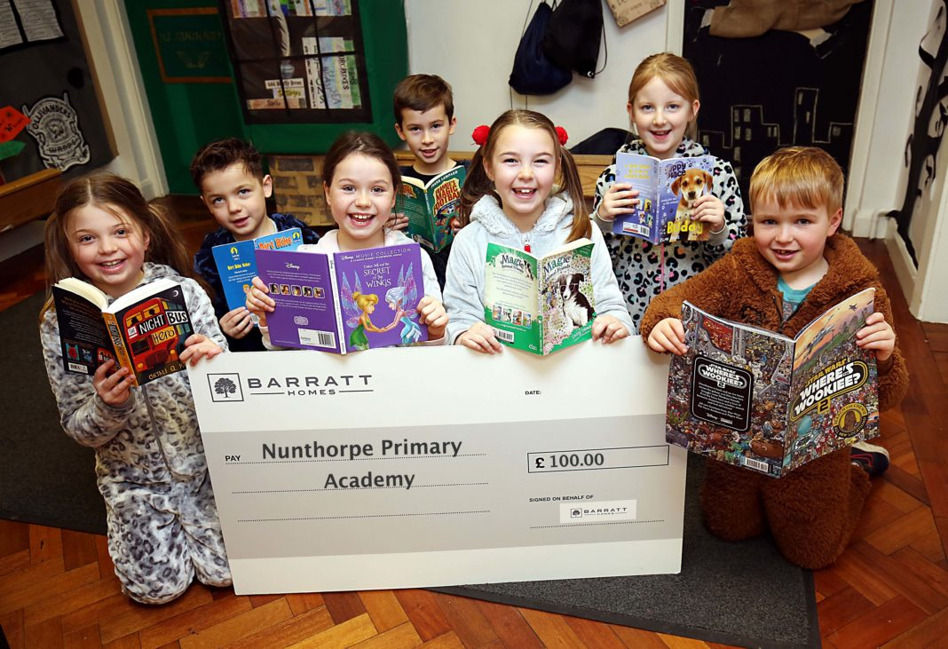 Barratt Homes Supporting Nunthorpe Primary Academy Pupils To Return To School