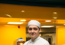 Award-winning Apprentice Josh Kane Helping To Cook Up Healthy School Meals