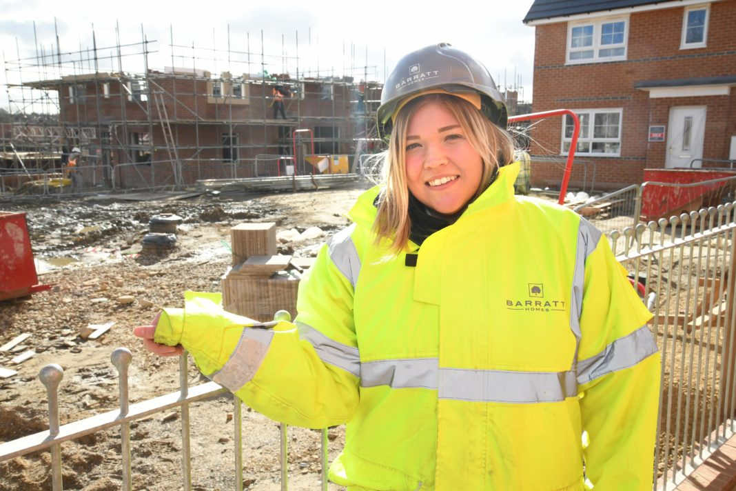 Barratt Developments Encouraging Women To Join The Male-Dominated Construction Industry