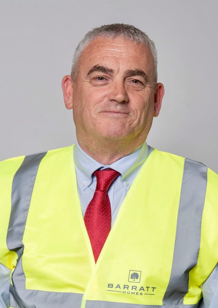 Local Site Manager From Barratt Developments Receives National Accolade
