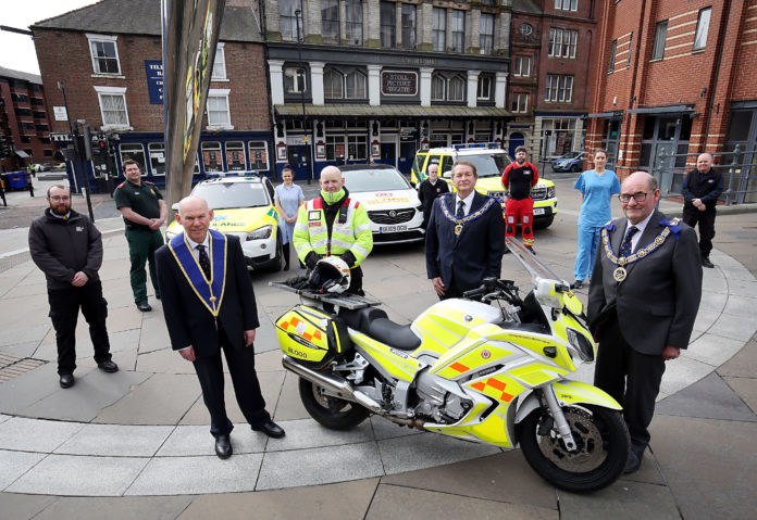 NHS Receives Support As A Form Of Thanks From Northumberland Freemasons