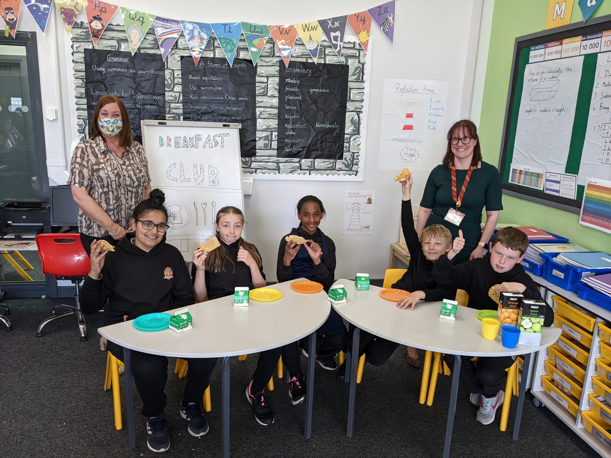 A Helping Hand For Northumberland Primary By Former School Student