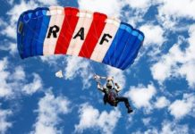Newcastle To Celebrate Armed Forces Day Picnic With RAF Falcons Parachute Team