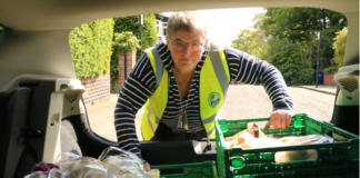 FoodCycle Volunteer Encouraging Others To Get Involved!