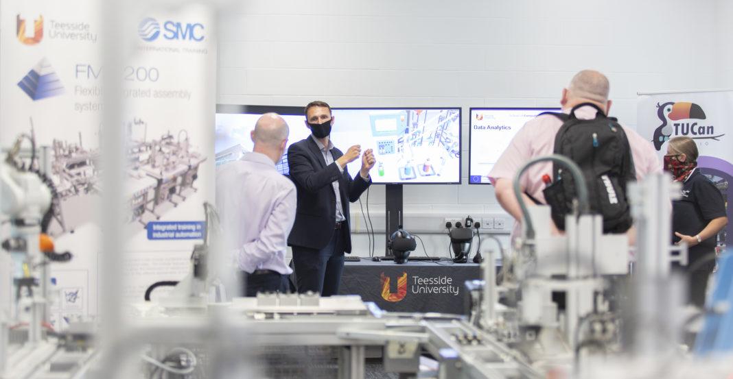 Teeside University Opens Its £1.8 Million Industrial Digitalisation Technology Centre
