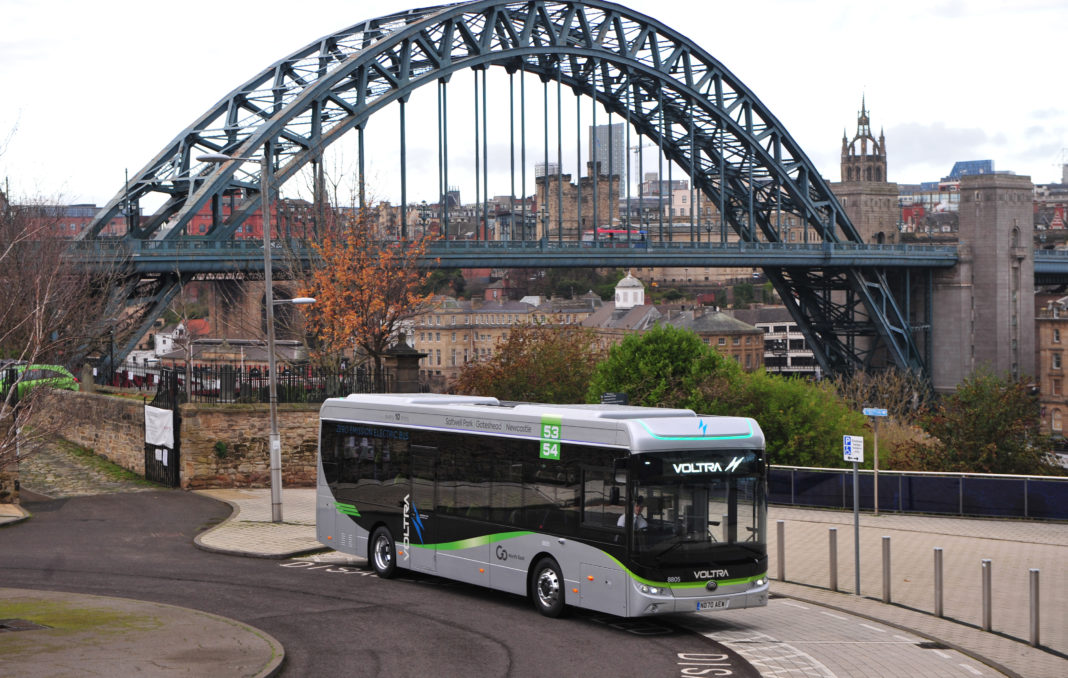 Zero Emission Buses To Be Delivered To The North East