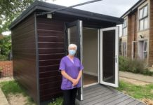 Careline's Summerhouse Serving As Safe Shelter For Care Home Visitors During The Pandemic