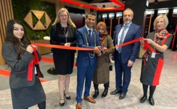 HSBC UK Grey Street Branch Open Re-Opens After Impressive Facelift